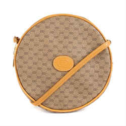 Gucci Monogram Mini GG Micro Coated Canvas Canteen Round Crossbody 11g910