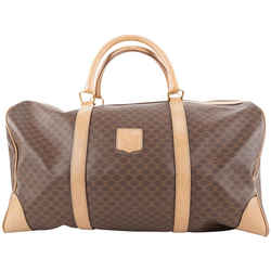 Celine Brown Monogram Macadam Boston Duffle Bag 340cel224