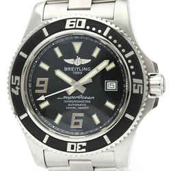 Polished BREILING Superocean 44 Steel Automatic Mens Watch A17391 BF517530