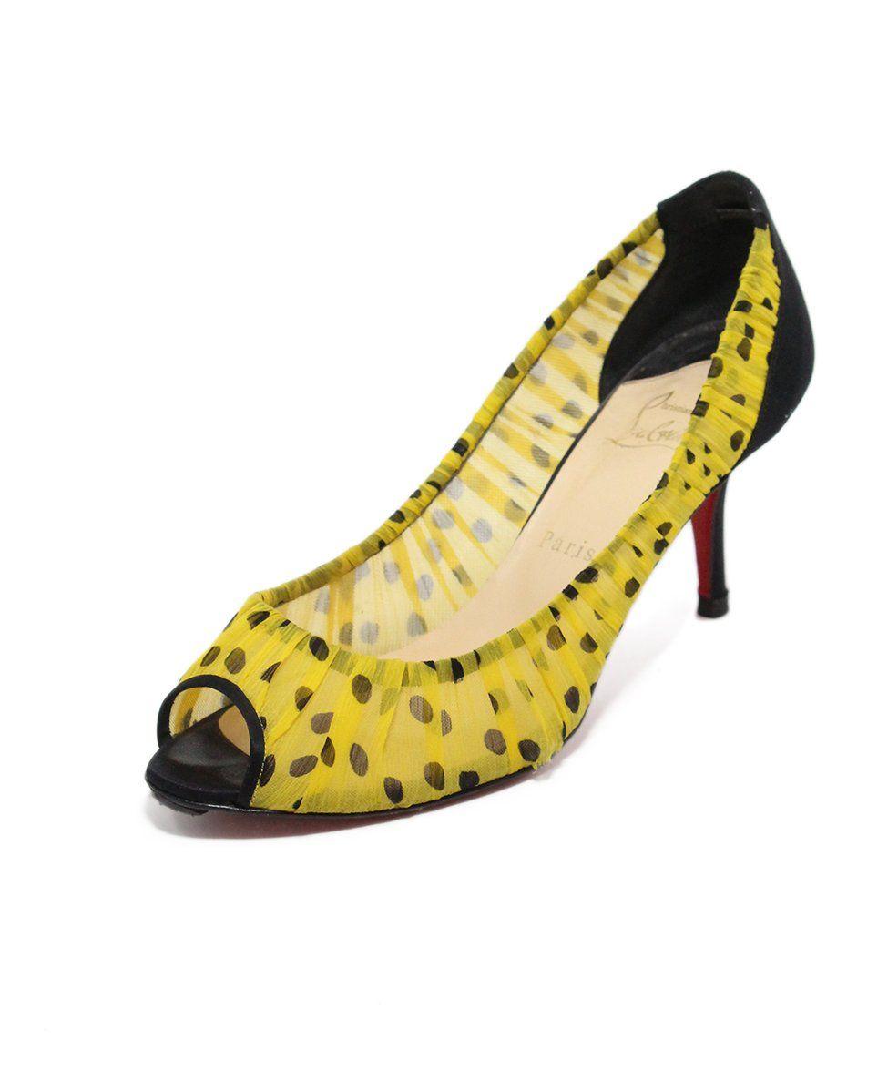 Christian Louboutin Heels Pumps Yellow