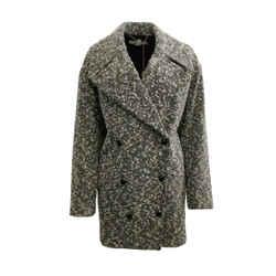 Stella McCartney Black / White Boucle Coat