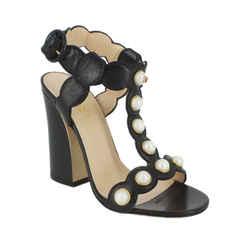 Willow Faux Pearl Sandal Heels
