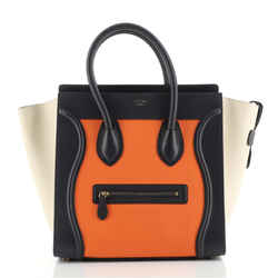Luggage Bag Grainy Leather Mini