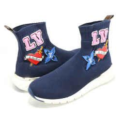 Louis Vuitton LV Monogram Sock Sneakers