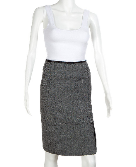 Gucci Wool Tweed Skirt