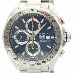 Polished TAG HEUER Fomula 1 Calibre 16 Chronograph Steel Watch CAZ2015 BF518155