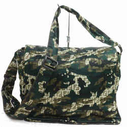 Fendi Monogram FF Camouflage Messenger Cross Body 871716
