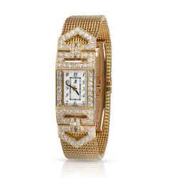 Audemars Piguet Charleston 67025BA Women's Watch in 18kt Yellow Gold