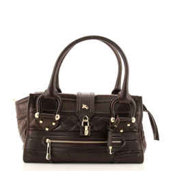 Manor Bag Quilted Leather Large