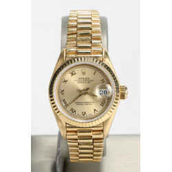 Rolex 26mm Datejust Ladies President Watch 69718