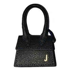 Jacquemus Le Petite Chiquito Black Micro Bag