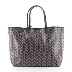 Saint Louis Tote Claire Voie Coated Canvas PM