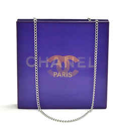 Chanel Holographic Purple Vinyl Chain Shoulder Bag CH765