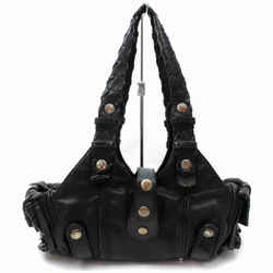 Chloe Black Leather Silverado Tote 860428