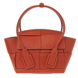 Auth Bottega Veneta Miniza Arco 29cm 2way Handbag Red 600606vmap18855 Leather Ba