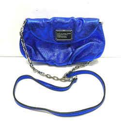 Marc By Marc Jacobs Women's Metallic Blue Classic Q Karlie Crossbody Bag
