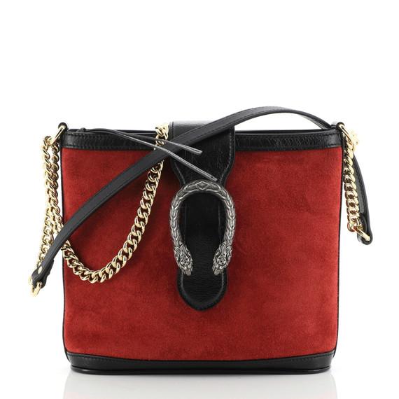 Dionysus Bucket Bag Suede Medium