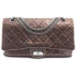 Chanel 2.55 Reissue Bronze Leather