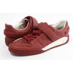 Louis Vuitton Elliptic Damier-Paneled Sneakers - Red