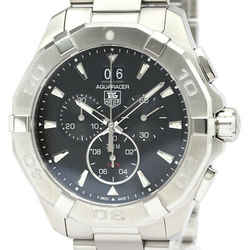 Polished TAG HEUER Aquaracer Chronograph 300M Quartz Mens Watch CAY1110 BF525197