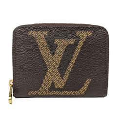 Louis Vuitton Brown Giant Monogram Zippy Small Wallet