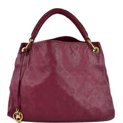 Artsy MM Empreinte Leather Shoulder Bag Mulberry