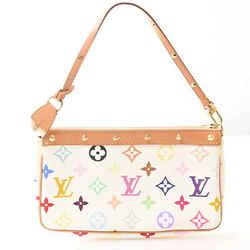 Auth Louis Vuitton Louis Vuitton Multicolor Pochette Accessoir Pvc