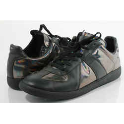 Maison Margiela Men's Replica Low Top Hologram Sneakers