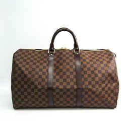 Louis Vuitton Damier Keepall 50 N41427 Boston Bag Ebene BF514961