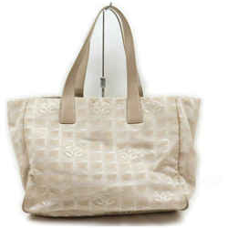 Chanel Beige New Line Shopper Tote MM 861493