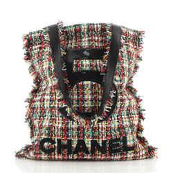 No.5 Shopping Tote Tweed Large