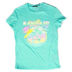 Balmain - New - $550 Palm Tree Tshirt - Crew Neck Tee - Mens US S - Small