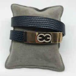 Escada Blue Wrap Bracelet
