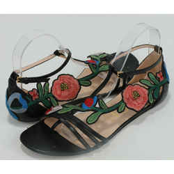 Gucci Ophelia Flower Sandals