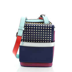 Benech Reporter Bag Spiked Leather
