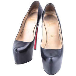 Christian Louboutin Daffodil Pumps Black One Size Authenticity Guaranteed