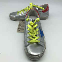 Golden Goose Silver Metallic Sneaker 8