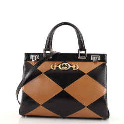 Zumi Top Handle Bag Python Medium