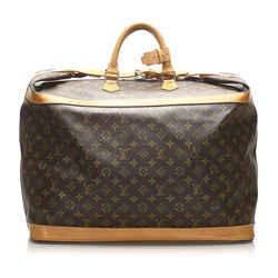 Vintage Authentic Louis Vuitton Brown Monogram Cruiser 50 France