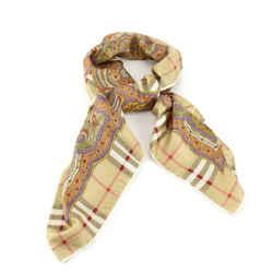 Burberry | Paisley Nova Check Silk Scarf