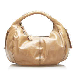 Brown Givenchy Leather Hobo Bag