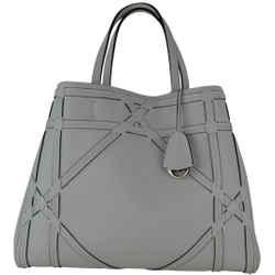Dior White Vanilla Leather Tote