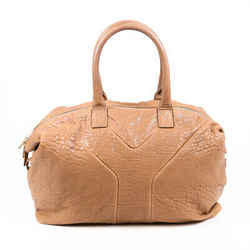 Yves Saint Laurent Bag Easy Y Brown Leather