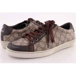 Gucci Gg Supreme Canvas Brooklyn Sneakers