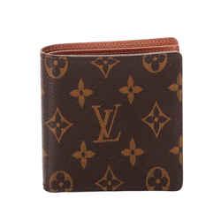 Vintage Authentic Louis Vuitton Brown Monogram Portefeuille Marco Wallet France