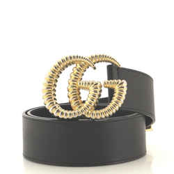 Torchon GG Marmont Belt Leather Wide 75