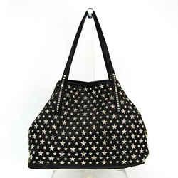Jimmy Choo Women's Leather Tote Bag Black BF535196