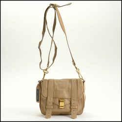 Rdc11244 Authentic Proenza Schouler Beige Mini Ps1 Crossbody Bag