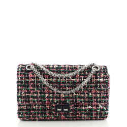 Reissue 2.55 Flap Bag Quilted Tweed with Resin Detail 225