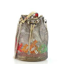Marie Jane Bucket Bag Embellished Lace
